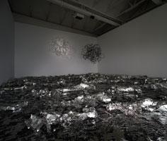 Peter Regli · Ausstellungsansicht, CAC Neuchâtel, 2010. Foto: Sully Balmassière