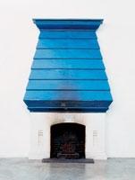 still.life. (johns fireplace), 2008, Bronzeguss, Farbe, 355,6 x 238,8 x 83,8 cm, Courtesy Galerie Eva Presenhuber, Zuerich. Foto: Stefan Altenburger