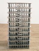 Rita McBride · Midrise Automobile Parking Structure, 1994' Aluminiumguss, sandgestrahlt, Kunstmuseum Winterthur