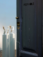 Alicja Kwade ·Weisses Gold (animal metaphysicum), 2010, veduta parziale dell'installazione