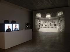Ana Torfs · Anatomy, 2006, Installationsansicht, Mücsarnok Budapest, 2009