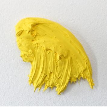 2016, Polymer und Pigment auf Alu, 38 x 30 cm