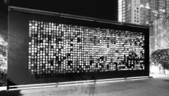 Julio Le Parc · Continuel Mobile, 1963, Nylon Draht, Paneele aus rostfreiem Stahl, 7m x 17m @ ProLitteris