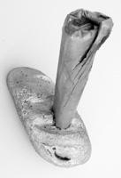 Erik Steinbrecher · Boulevardzunge, 2011, Aluguss, 28 x 12,5 x 27 cm @ProLitteris