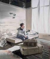 Andy Denzler, Fading Out, 2011, #1969, Öl auf Leinwand, 190 x 160 cm