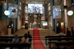 Christoph Schlingensief · Eine Kirche der Angst vor dem Fremden in mir, 2011, dt. Pavillon. Foto: Werner Egli