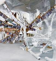 Thomas Hirschhorn · Crystal of Resistance, 2011, Multimediainstallation, Schweizer Pavillon, Biennale Venedig. Foto: Werner Egli