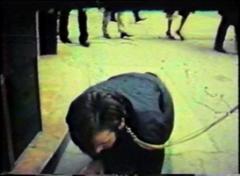 Peter Weibel · Aus der Mappe der Hundigkeit, 1968, Videostill