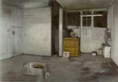 ohannes Rochhausen · Atelier, 2009, Öl und Eitempera auf Leinwand, 190 x 270 cm