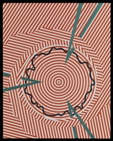 Tomma Abts · Feio, 2007, Öl und Acryl auf Leinwand, 48 x 38 cm. Courtesy Daniel Buchholz, greengrassi, Giti Nourbakhsch, David Zwirner