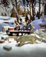 Diana Thorneycroft · Early Snow with Bob and Doug, 2005, Foto, 127 x 101,6 cm