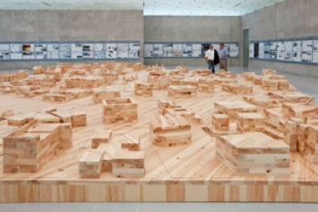Ai Weiwei · Ordos 100, 2011, Ausstellungsansicht, Kunsthaus Bregenz. Foto: Markus Tretter
