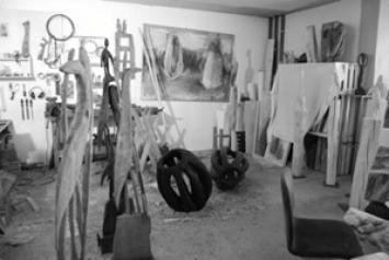 Katrin Zuzáková · Atelieraufnahme, 2011