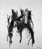 Willi-Peter Hummel · o. T., 2011, Acryl und Kohle auf Leinwand, 145 x 125 cm