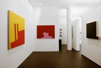 Ausstellungsansicht Diet Sayler in der Galerie Klaus Braun