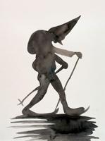 Andrei Roiter · Artist at Work 10, 2000, Aquarell auf Papier, 40 x 30 cm