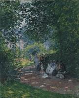 Claude Monet · Au Parc Monceau, 1878, Öl auf Leinwand, 65 x 54 cm
