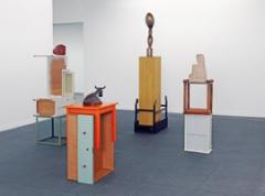 Florian Slotawa · Berner Sockel, 2010, 4-teilig, mixed Media, Hermann und Margrit Rupf-Stiftung, Kunstmuseum Bern © ProLitteris