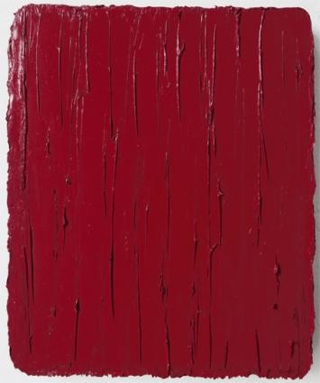 Christiane Conrad, Weinrot, 2018 Öl auf Leinwand 31 x 25 cm