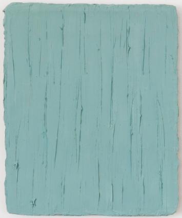 Christiane Conrad, Himmelblau, 2018 Öl auf Leinwand 31 x 25 cm