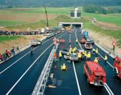 Nicolas Faure · Exercice de sauvetage, Mont-Russelin Sud (JU), September 1998