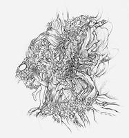 Anne Marie James · Untitled (A Dragon), 2011, Bleistift auf Papier, 35 x 27 cm