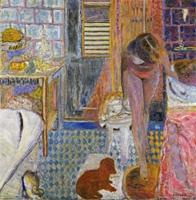 Pierre Bonnard · Das Badezimmer, 1932, Öl auf Leinwand, 121 x 118,2 cm © Pro Litteris