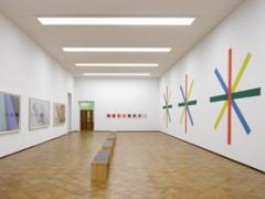 Francis Baudevin · Dominik Stauch featuring Daan Van Golden, Ausstellungsansicht Kunstmuseum Thun, Golden Days, 2012