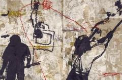 Zhou Brothers · New York Performance, 2011, Öl und MT auf Leinwand