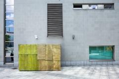 Jürgen Drescher · House of Carpets, 2012, Aluminum, Courtesy the artist and Mai 36 Galerie, Zürich, Location: Hof Bahnhofstrasse 41