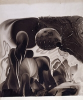 André Thomkins · O.T. (Astronauten), um 1962, Courtesy, Hauser & Wirth © ProLitteris