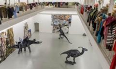 Rob Pruitt, History of the World, 2012, Ausstellungsansicht. Foto: Marc Doradzillo