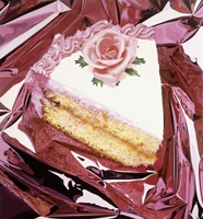 Jeff Koons · Cake, 1995-97, Öl auf Leinwand, 318,5 x 295,6 cm. Foto: Jim Strong