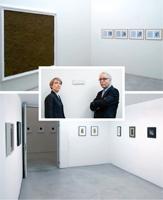 Schattenlicht, Von James Bishop bis Sol LeWitt - von Giorgio Morandi bis Bram van Velde, 2012, Ausstellungsansicht, Galerie Annemarie Verna, Zürich
