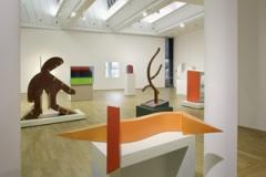 Thomas Scheibitz · One-Time Pad, 2012, Ausstellungsansicht. Foto: Axel Schneider © ProLitteris
