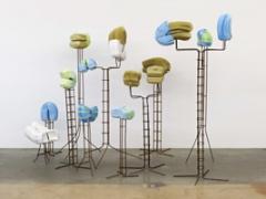 Anita Molinero · Sans titre, 2012, Ausstellungsansicht Mamco, Genf. Foto: Ilmari Kalkkinen