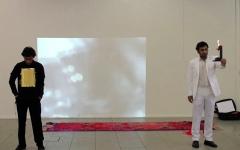 Border Videostill der Performance, 2012