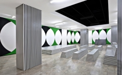 Scantione-Tensione Peintures murales, acrylique, 2011