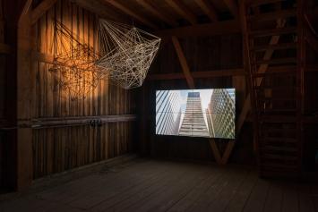 Kulturschüür,Kunst: Szene Zürich 2018.Foto:Dominik Zietlow