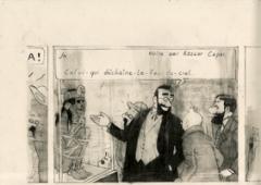 Marc Bauer · Le Collectionneur, 2012, Bleistift auf Papier