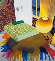 Hendrix's Last Basement, 2001, Ölfarbe auf Leinwand, 203x183cm, Zabludowicz Collection