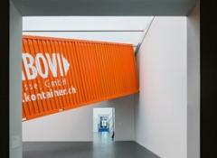 Jorge Macchi, Container, 2013, Dimensionen variabel, Ausstellungsansicht Kunstmuseum Luzern. Foto:Stefano Schröter