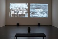 Jorge Macchi, From here to eternity, 2013, Dimensionen variabel, Ausstellungsansicht Kunstmuseum Luzern. Foto: Stefano Schröter