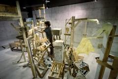 Ici vous allez trouver ce que nous cherchons, 2013, Ausstellungsansicht, Centre Dürrenmatt, Neuchâtel. Foto: Lukas Tiberio Klopfenstein