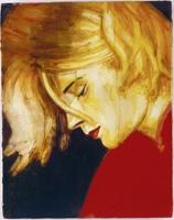 Elizabeth Peyton · Blur Kurt, 1995, Oil on masonite/Öl auf Hartflaser, 35,6x27,9 cm