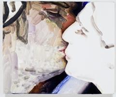 Elizabeth Peyton · What Wondrous Thing Do I See... (Lohengrin, Jonas Kaufmann), 2011-2012, Öl auf Holz, 22,9x27,9 cm