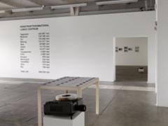 Lara Almarcegui · Ausstellungsansicht Ivry souterrain, Centre d'art contemporain d'Ivry - le Crédac, Courtesy Ellen de Bruijne Projects, Amsterdam. Foto: André Morin