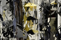 Katharina Henking · Transformation, 2013, Detailansicht, Ateliersituation