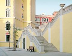 Florian Joye · Venise Pearl, 2011(Doha), Quartier von Pearl Island nach venezianischem Vorbild