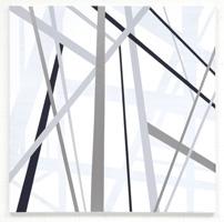 Rita Ernst · Müstair 7, 2013, 100x100cm